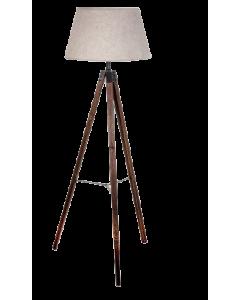 LAMPARA DE PIE NATURAL