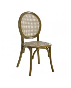 SILLA MEDALLON NATURAL