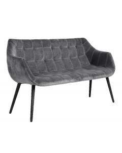 Sofa velvet grey