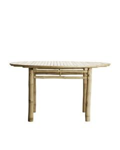 mesa comedor bambú