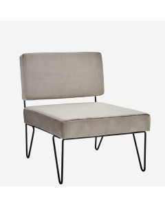 LOUNGE CHAIR GRIS