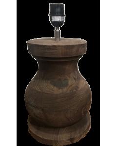 Pie de lámpara wood