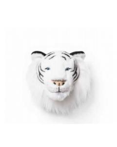 Cabeza Peluche Tigre Blanco