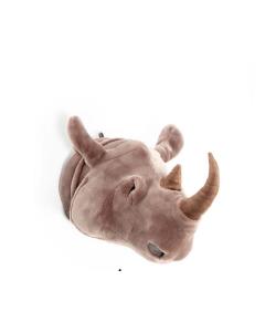 Cabeza Peluche Rinoceronte