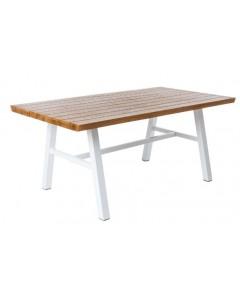 Mesa aluminio/madera