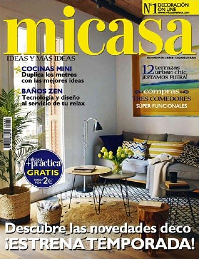 Revista de decoracion mi casa casas reformadas micasa for Revista decoracion mi casa